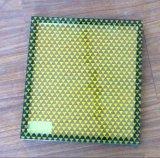 Glace isolée avec la configuration de couleur estampée par écran en soie
