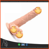 3 de Realistische Flexibele Penis Dildo van de grootte met de Sterke Producten van het Geslacht van de Haan van Dildos van de Zuignap Volwassen