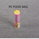 Обработка поверхности тиснения и PE материальных продуктов питания мешки для экранной заставки