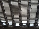 Nastro trasportatore dell'acciaio inossidabile per il dispositivo trasportatore
