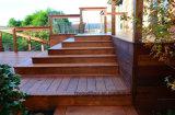 인도네시아 Merbau 경재 옥외 정원 Decking