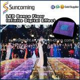 La meilleure vente pour le mariage et le miroir infini DEL Dance Floor de l'usager 3D