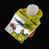 Sacchetto libero di imballaggio di plastica della testa della scheda con il foro d'attaccatura