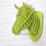 도매 본래 벽 장식 창조적인 가정 장식적인 나무로 되는 기술 시뮬레이션 Horsehead 벽은 벽 커튼을 꾸몄다