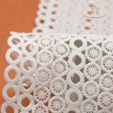 Nigerische Stickerei-afrikanische weiche Textilfranzose-Nettospitze