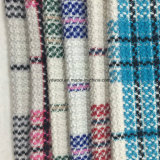 Tela de las lanas de la verificación de los colores ligeros para el sobretodo