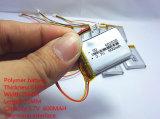 3.7V 600mAh 602535 Batterij van Li van het Polymeer Li-Po de Ionen Navulbare voor MP3 MP4 GPS PSP de e-Boeken van PC Bluetooth van de Tablet DVD