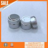 Großhandelskosmetik-Aluminiumglassahneglas mit Kappen