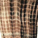 Hztd121 Tejido Rayon Tie Dye para vestidos de moda Vestidos