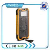 De nieuwe Model ZonneCellphone Bank van de ZonneMacht van de Lader 10000mAh Draagbare met Dubbele USB
