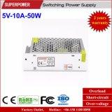 5V 10A 50W Schaltungs-Stromversorgung für LED-Bildschirm
