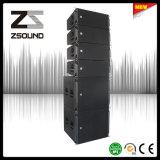 "Audio profesional de la doble estructura altavoz vertical coaxial de 10"""