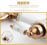 Новая конструкция керамическая определяет Faucet тазика ручки античный (ZF-610-1)