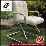 Sillas de cuero baratas de la oficina del soporte del vinilo de la oficina del cedazo posterior cómodo de la silla