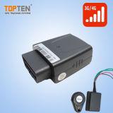 Diagnostic OBD Tracker avec capteur G et d'alarme de collision (TK208S-KW)
