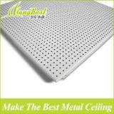 Paneles suspendidos acústicos de aluminio del techo