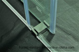 Double roulis de diapositive de 8-10mm glissant la porte de douche par pièce jointe de douche de passage
