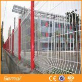 고품질 PVC에 의하여 입히는 직류 전기를 통한 구부려진 용접된 담 위원회