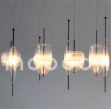 현대 간결한 작풍 실내 장식적인 식당을%s 손에 의하여 불어지는 예술 유리제 펀던트 빛