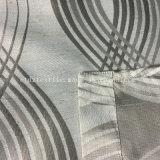 100% Poli Novos Fios especiais típica roupa tingida com tecido de Cortina Jacquard