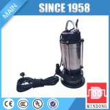 Qdx10-16-0.75シリーズ0.75kw/1HP IP68深い井戸の可潜艇ポンプ