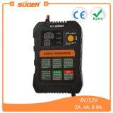 Suoer 6V 12V Carregador de Bateria inteligente para automóvel inteligente (UM01-0612UM)