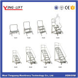 Step Warehouse Safety Rolling Ladder