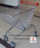 Yuanda Metal Store Supermarket Shopping Trolley Cart