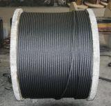 Stahl/Ungalvanized-Bandspule-Verpackung des drahtseiles 6X19 galvanisierte
