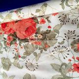 Zerstreung 100%Polyester druckte Gewebe 120GSM für Bettwäsche-Set