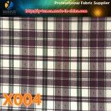 Merci in azione! Prodotto intessuto assegno tinto più poco costoso del filato di poliestere per il rivestimento (X001-4)