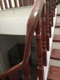 Строительных материалов полностью зеленого цвета натурального дерева лестницы с ISO9001 сертификации