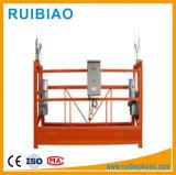 Alu Steel Material Electric Ce Plate-forme suspendue approuvée