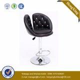 Tabouret de bar en chaise en cuir chromé en métal à base de base (HX-AC239)