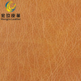Heißer Verkauf Microfiber synthetisches Leder für Sofa-Möbel Upholestery