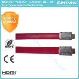男性HDMIケーブル3DサポートHDMIケーブルへの平らな1.3V /1.4Vの男性