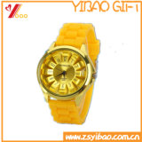 Custom Fashion Design Waterproof Silicone Watch (YB-AB-002)