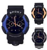 No 1 шагомер Smartwatch тарифа сердца Bluetooth спортов A10 3-Proof цвет сини вахты прогноза погоды сигнала тревоги поддержки экрана LCD 1.2 дюймов франтовской