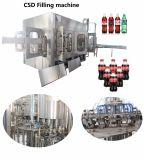 ターンキー炭酸飲料の清涼飲料のびんの充填機機械完全な生産ラインを完了しなさい