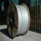 Cabo de alimentação de arame de aço revestido de alumínio no tambor de madeira