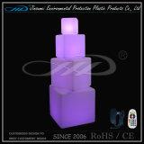 Iluminação de cadeira de assento de cubo de LED impermeável