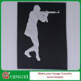 Película caliente del traspaso térmico del PVC de la venta de Qingyi en accesorios de vestir
