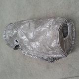 Fibra de vidro à prova de calor em alumínio panela de manta de isolamento térmico removível