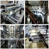 Sacchetto non tessuto automatico pieno del contenitore di maniglia del ciclo che fa macchina