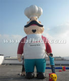 Riesiger aufblasbarer Koch-/Chef-Karikatur-Ballon K2103