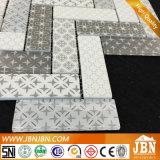 Mattonelle di mosaico di vetro Maglia-Montate sembrare di legno per il servizio americano (V639004)