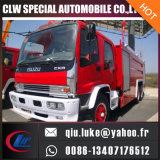 4500L Isuzuシャーシの消火活動のトラック