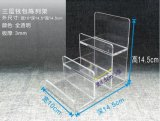 Étalage acrylique clair de pochette d'étalage de Sunglass de 6 couches
