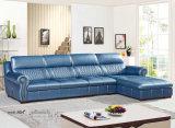 Sofa de cuir de type de l'Amérique, les meilleurs meubles de maison de qualité (A54)