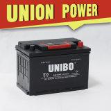 Batería de coche auto sin necesidad de mantenimiento del alto rendimiento de la batería de DIN75 12V75ah